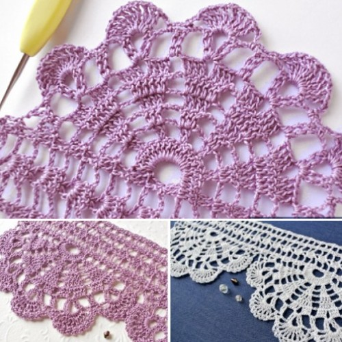 Crochet Wide Economy Lace - Free Pattern & Tutorial