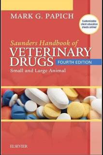 Saunders Handbook of Veterinary Drugs 4th Edition