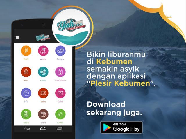 Plesir Kebumen. Informasi Wisata Kebumen ada di Aplikasi Android