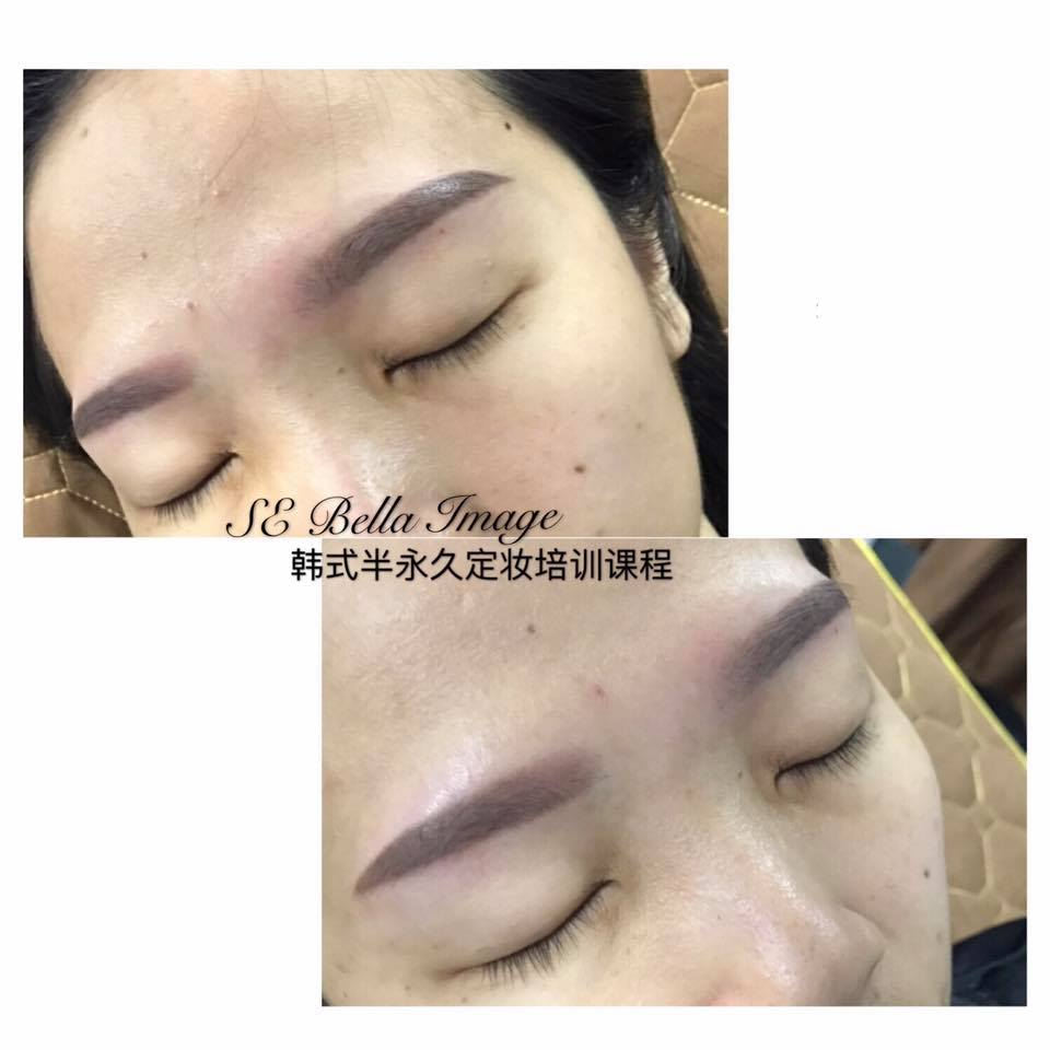 Semi Permanent Eyebrow Embroidery