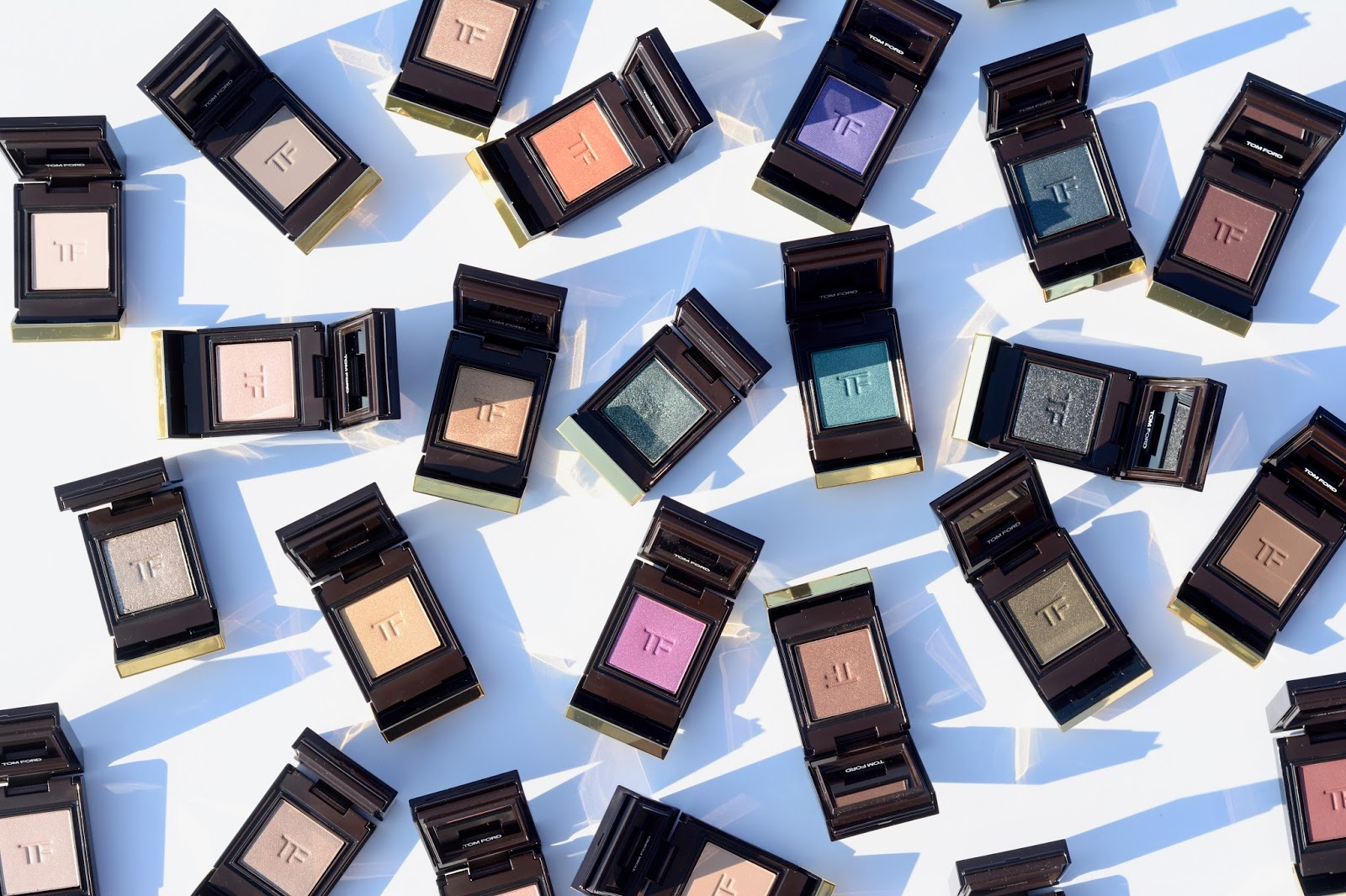 Tom Ford Private Eyeshadow Singles Swatches Review