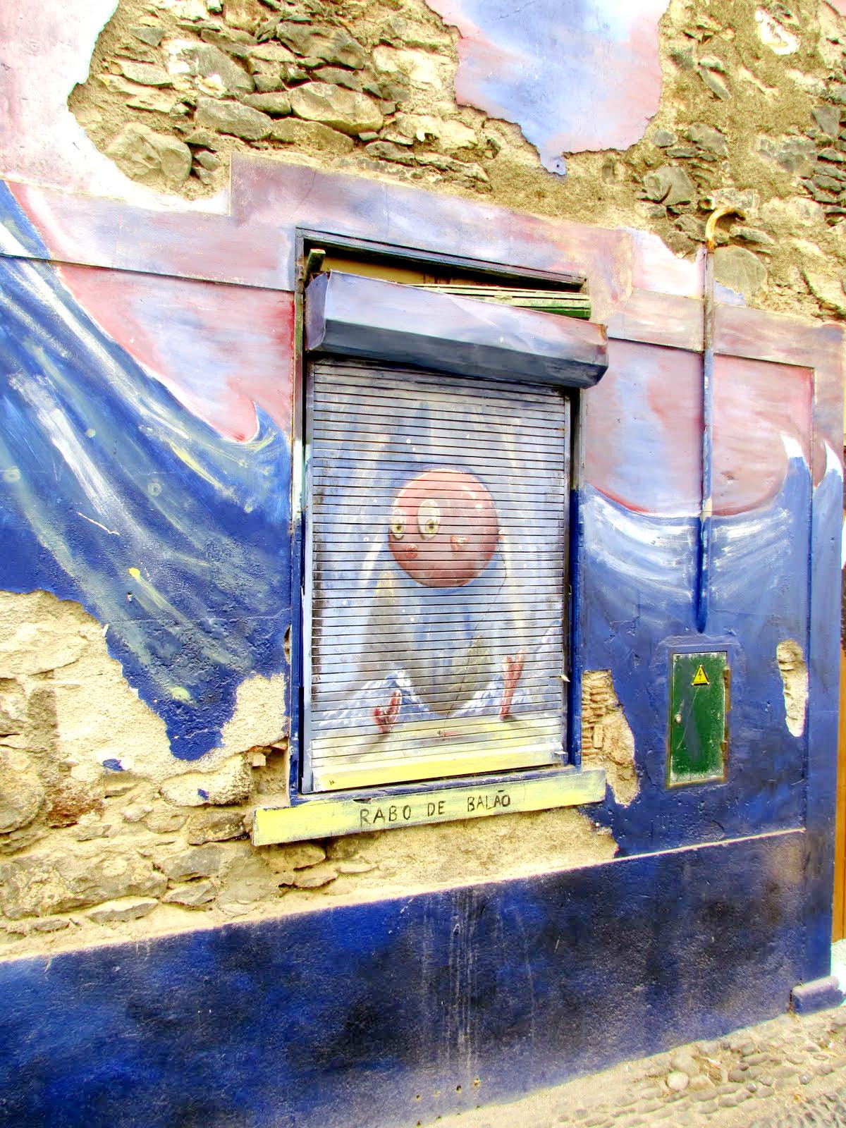 paintings - Santa Maria street in old town