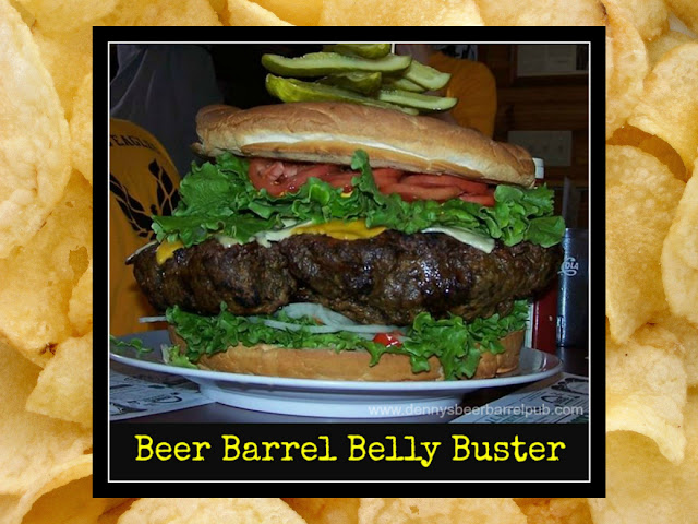 Denny's Beer Barrel Pub Belly Buster