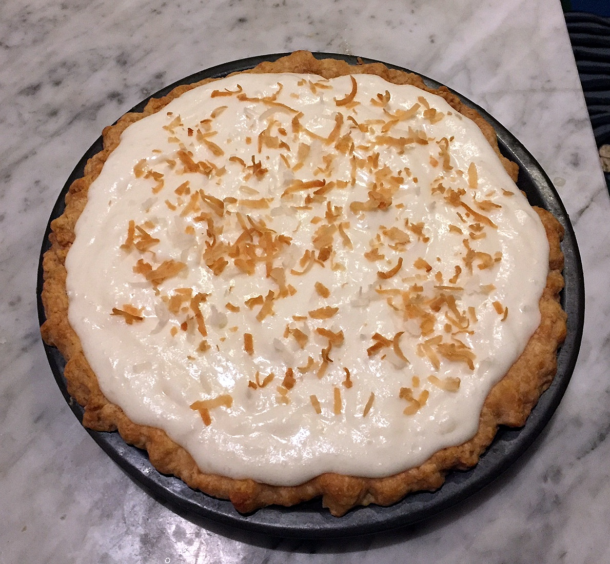 Cake Bakes in Brooklyn: White Christmas Pie