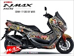 All new nmax custom decal