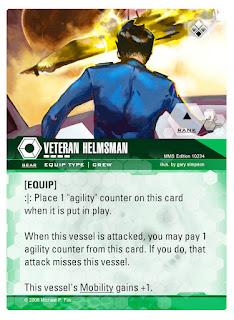 Dog Fight: Starship Edition Veteran Helmsman