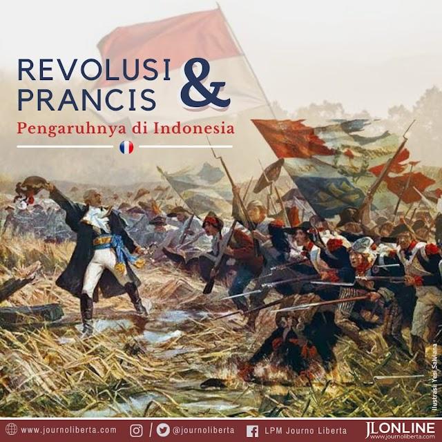 Revolusi Prancis dan Pengaruhnya di Indonesia
