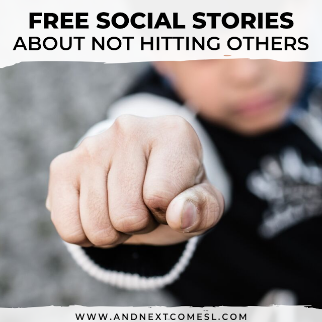 Free social stories about not hitting others
