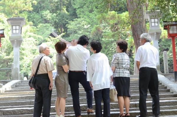吉田神社でお宮参り