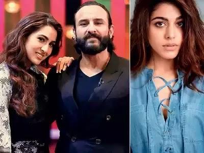 Saif Ali Khan on Sara Ali Khan Hindi news18of