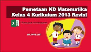 Download Kompetensi Dasar Pelajaran Matematika Kelas 4 K13