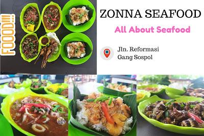 Menikmati Sajian Lengkap di Zona Seafood Pontianak