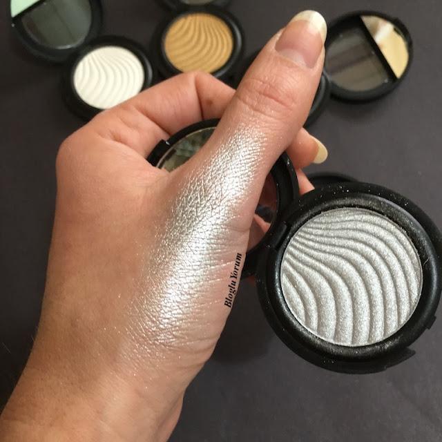 flormar metallic eyeshadow A001 silver storm