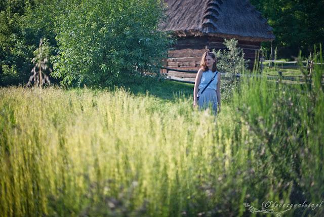muzeum wsi lubelskiej, len, w skansenie z dziecmi