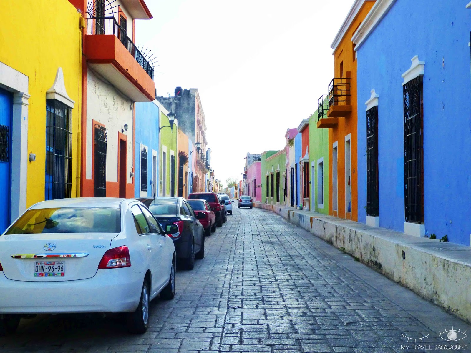 My Travel Background : 6 villes et villages découverts en 2016 - Campeche, Mexique