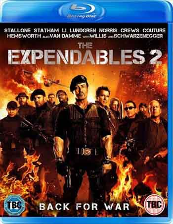 The Expendables 2 2012 480p 300MB BRRip Dual Audio