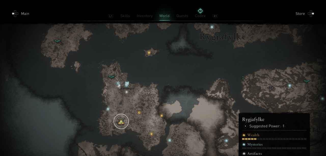 Ingot 5 Map