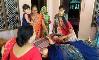 बाकी गांव में छाया मातम, हर चेहरे पर दिखा गम | #NayaSaberaNetwork