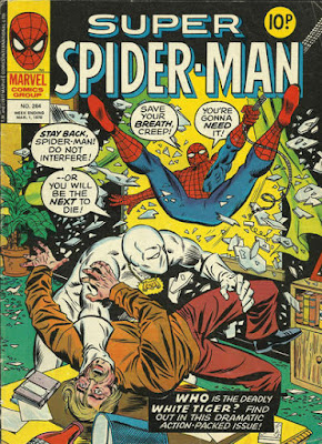 Super Spider-Man #264, the White Tiger