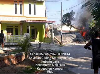 Jet Tempur Hawk 200 TNI AU Jatuh di Kampar Riau