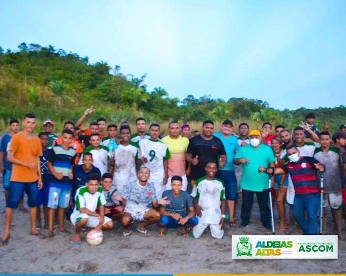 ESPORTE - Prefeitura Municipal proporciona novos tempos para a classe desportista de Aldeias Altas