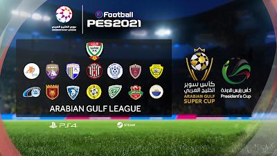 PES 2021 Arabian Gulf [UAE] League Option File by AGL_PES