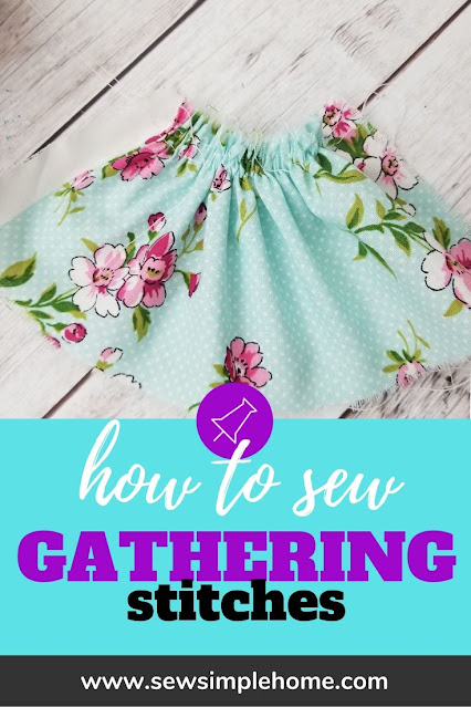 Learn how to gather fabric easily and nearly perfect every time with this technique.
