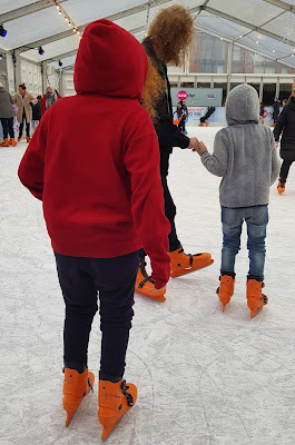 Christmas Media City Manchester Ice Skating review
