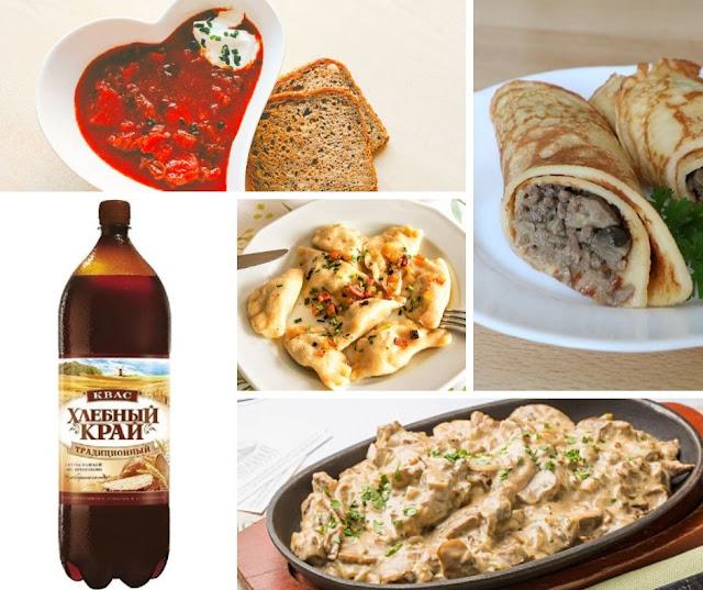 comidas bebidas russia