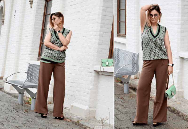 Braun-kombinieren-Look-mit-brauner-Damenhose