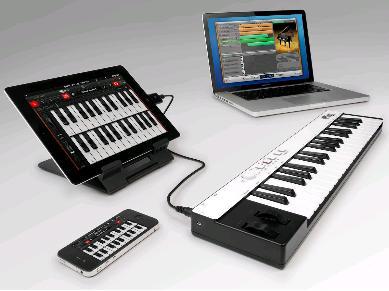 irig keys portable universal midi controller keyboard for ios and pc ol techno. Black Bedroom Furniture Sets. Home Design Ideas