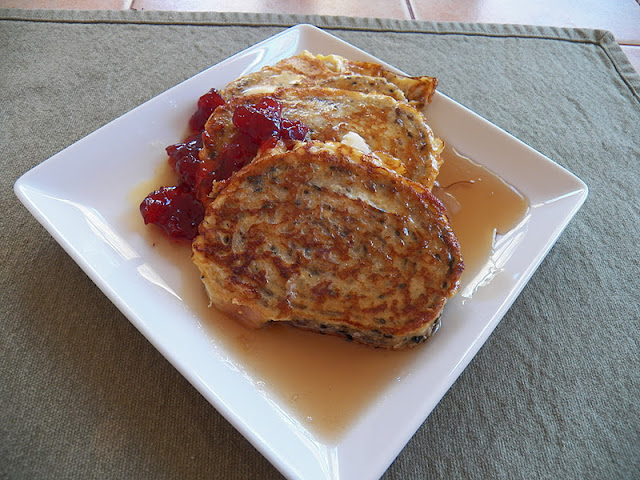 French Toast on plate with syrup and jam