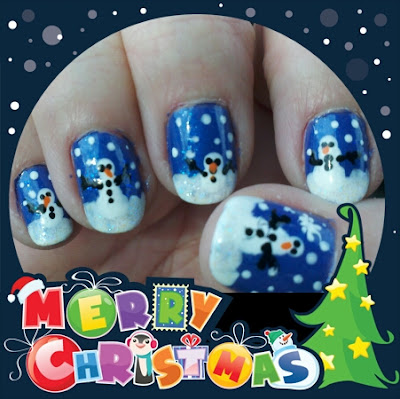 NailArt - Southern Style: Merry Christmas!