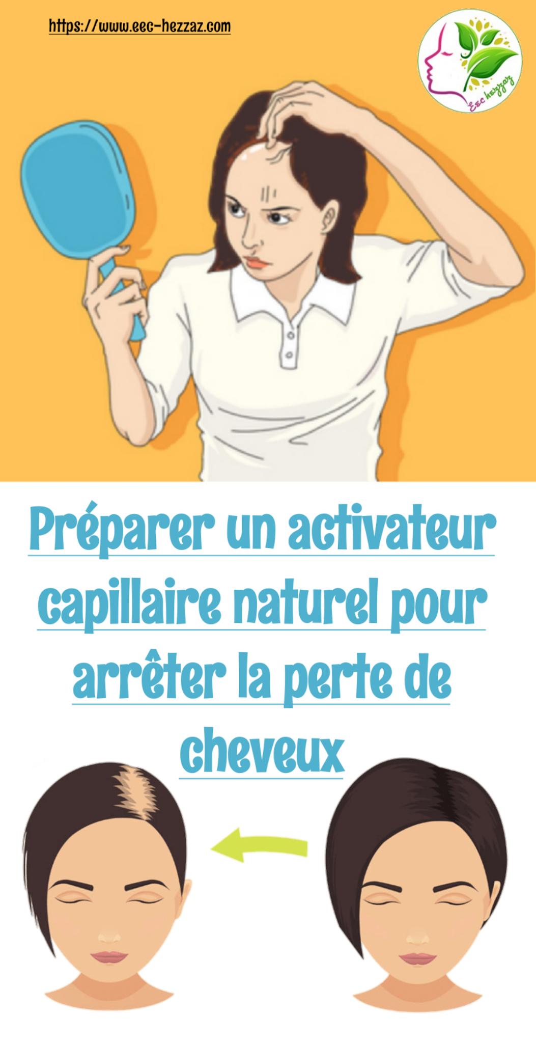 Préparer un activateur capillaire naturel pour arrêter la perte de cheveux