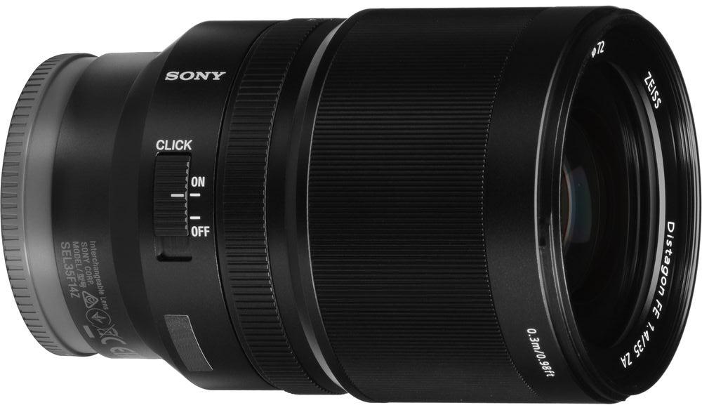 Объектив Sony Zeiss Distagon T* FE 35mm f/1.4 ZA