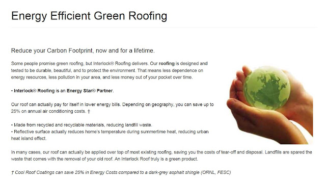 Mariette 39 s back to basics energy efficient green roofing for Energy efficient roofing