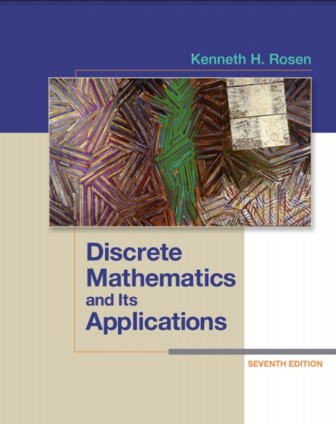 Discrete Mathematics and Its Applications 7 Edition Kenneth Rosen in pdf