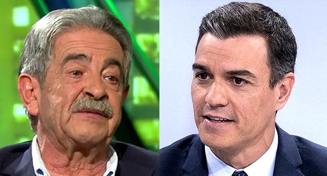 Revilla defiende a Sánchez tras ser insultado en Cantabria