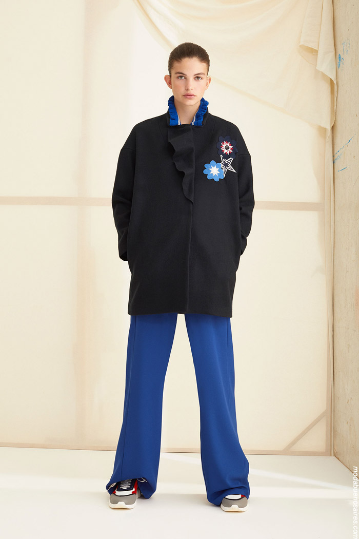 Sacos de moda invierno 2019 moda mujer. Moda invierno 2019.