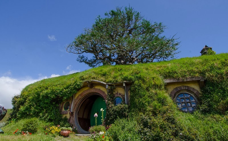 Hobbiton - the Real Hobbit Village in Matamata, New Zealand