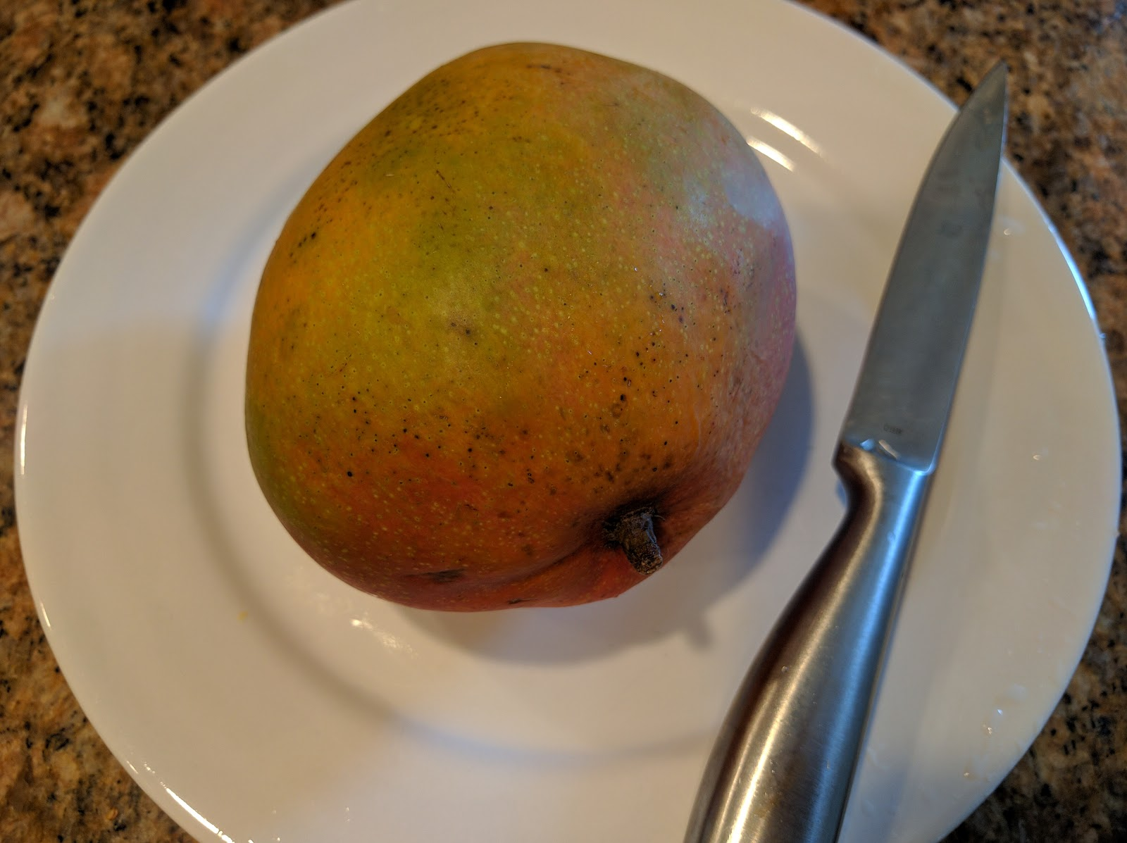 How To Peel A Mango  A Life Unprocessed