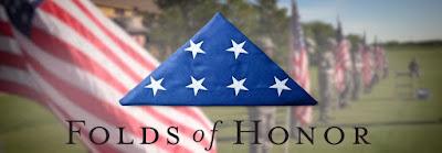 Fold of Honor Lap Thirteen Tribute #NASCAR