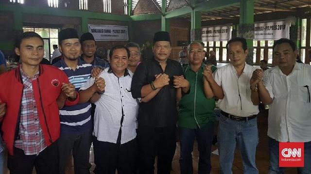 Aktivis Ganti Presiden Protes Deklarasi #2019KitaBersaudara