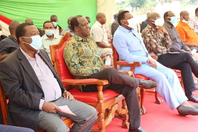Western Leaders meeting at Kakamega photo