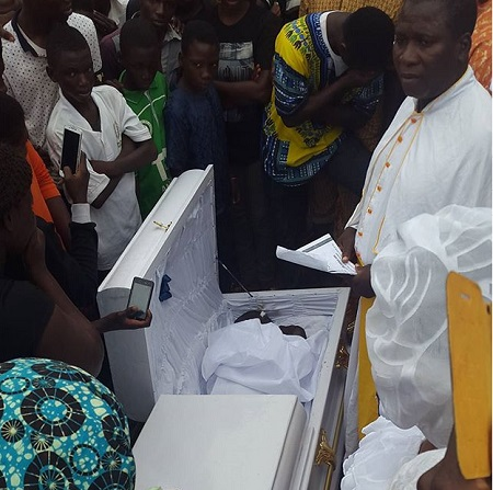 nollywood actor skede buried