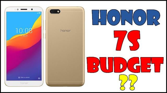 Honor 7S Launched In India - New Budget Smartphone