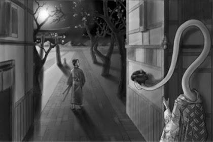Rokurokubi, Hantu Wanita Berleher Panjang Dari Jepang