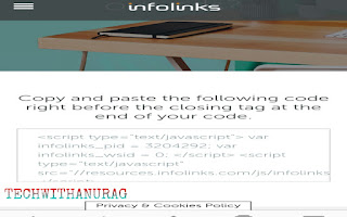 How To Create An Account In Infolinks?