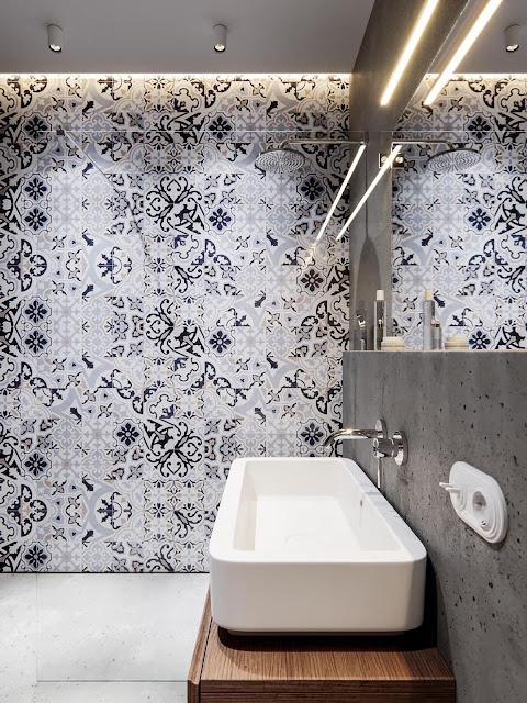 Bathroom Floor Tiles Design India