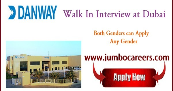 Latest Interview For Danway Group Dubai For Electrical